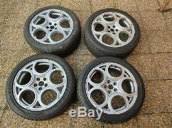 Llantas Wheels Alfa Romeo 147 156 17 X 7,5 Gta 4 Complete Wheels 5x98