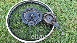 MATCHLESS G3L WD rear wheel complete with drum brake