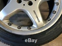 Mercedes Benz Oem Clk55 Clk430 C230 C240 Amg Wheel Rim And Tire 225 45 17 Inch