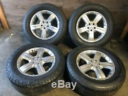Mercedes Benz Oem Gl450 Ml350 Ml500 Front Rear Set Rim Wheel And Tire 18 Inch #2