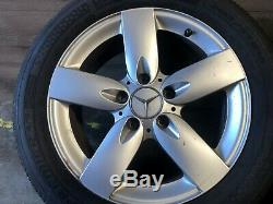 Mercedes Benz Oem R171 Slk280 Slk350 Front Rear Set Rim Wheel And Tire 16 Inch