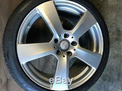 Mercedes Benz Oem W207 W212 E350 E550 E63 Wheel Rim And Tire 265 35 18 Inch #2