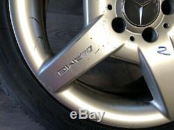Mercedes Benz Oem W209 R171 Clk55 Slk55 Amg Wheel Rim And Tire 245 40 17 Inch