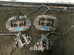 Mercedes Benz Oem W221 W216 S550 Cl550 Front And Rear Caliper Brake Brakes Set