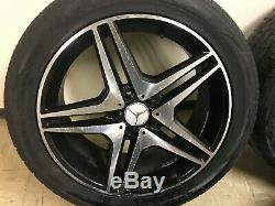 Mercedes Benz Oem W251 W164 R350 Ml63 Ml350 Ml500 R63 Amg Wheel Rim Tire Set 20