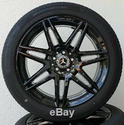 Mercedes Benz V Class Vito W447 19 Inch AMG Rims Complete Wheels Genuine