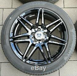 Mercedes Benz V Class Vito W447 19 Inch AMG Rims Complete Wheels Original