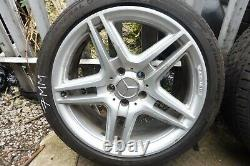 Mercedes C Class W204 AMG 18 Inch Complete Alloy Set With Tyres A2044014102