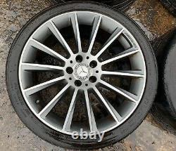 Mercedes CLS W218 AMG Axle Aluminium Complete Wheels 19 INCH Rims A2184011100