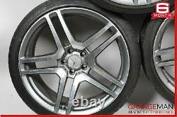 Mercedes S550 CL550 CLS550 Staggered 10x8.5 Wheel Rim Rims Set of 4 Tires R20
