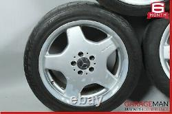 Mercedes W220 S500 Complete Front & Rear Wheel Tire Rim Set OEM
