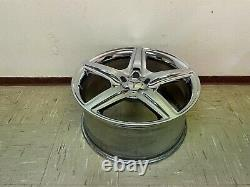 Mercedes W221 S63 S65 Cl63 S550 Cl550 Rear Back Amg 20 Chrome Wheel Rim Oem