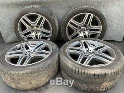 Mercedes X166/ Gl63 Complete Amg 21 Rim Wheel Wheels Tire Tires Factory Set Oem