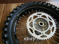 NEW 2020 Honda CRF450R Rear Wheel Complete OEM Rim Hub Tire Rotor CRF250R 14-20