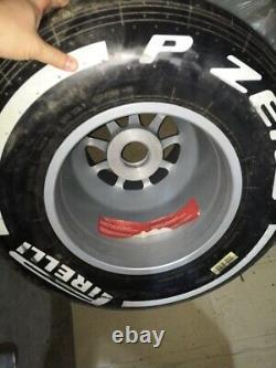 NEW Genuine Formula 1 Oz Racing Renault 13 Complete Wheel Rim Tire Slick FIA