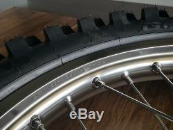 NEW OEM Honda CRF450R Rear Wheel 19 Inch Rim + Tire Complete CRF 450R 13-18