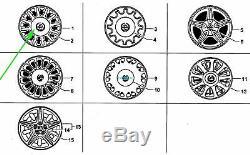 NOS VS Holden Statesman Complete Set of 4 Alloy Wheel Centre Rim Wheel Caps