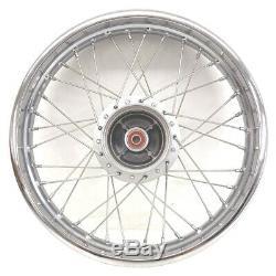 OEM Honda 16 Complete Rear Rim Wheel Spokes 2014-21 CRF 125FB Big Wheel