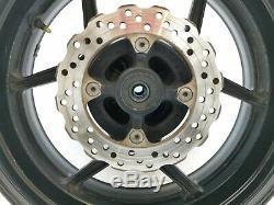 Oem Complete Rear Wheel Rim Carrier + Disc Kawasaki Zx10r 2006 2007 D6f D7f