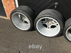 Porsche Lobster Claw Wheels Completely Unmarked Both Inside and Out, Perfect