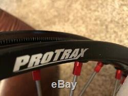 ProTrax Complete Front Wheel Rim 21X1.60 Red Hub HONDA CR125 CR250 CRF250R