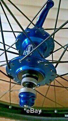 Quality Wheels 26' Complete Wheelset Mtb 26' Hope Pro 2 Hubs, Mavic Rims