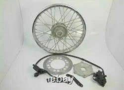 Royal Enfield Bullet Classic 350/500CC Front Disc Break Type Complete Wheel Rim