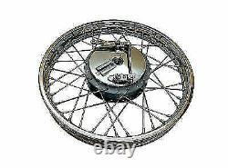 Royal Enfield Complete Front & Rear Wheel 19 40 spoke