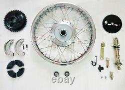 Royal Enfield Complete Front & Rear Wheel + Front Wheel Disc Brake Kit Assembly