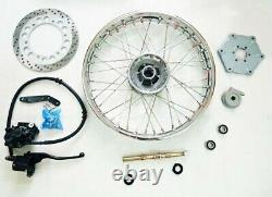 Royal Enfield Complete Front Wheel Disc Brake Model With Disc Brake Kit Assembly