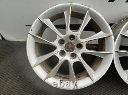 Saab 9-3 (65.1 Bore 5x110 PCD) Complete Set of 18 Alloy Wheels 7.5J ET41