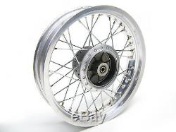 Sachs Roadster 125 V 2 Complete Rear Wheel Rim 17MTX3, 50 et P009272409886000