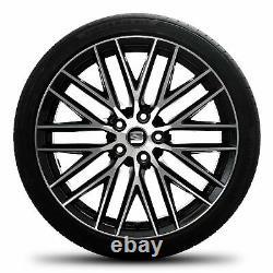 Seat 19 inch rims Leon 5F ST FR Cupra summer complete wheels alloy rims