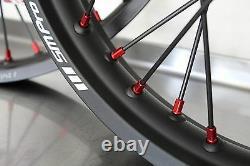 Sm Pro Platinum Wheel Set / Rim Hub Spokes Complete! Lighter Than Excel & Tusk