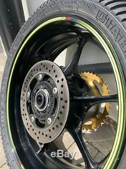 Suzuki GSXR 1000 2017 L7 OEM Complete Wheels. L8 L9