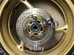 Suzuki GSXR 750 K8 K9 L0 2008-2010 Complete Set Of Wheels Rims Discs GSXR 600