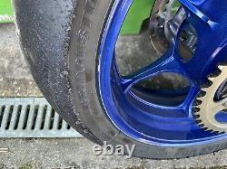 Suzuki Gsxr1000 L7 L9 Wheels Rims 2017 2020 Complete With Brake Discs Blue
