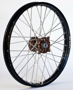 Talon Complete Wheel Assembly Front Rim 1.60 x 21 Magnesium/Black (56-4141MB)