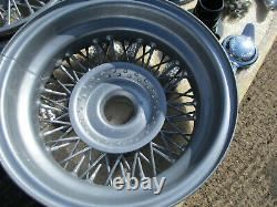 Triumph Spitfire Vitesse GT6 wire wheels conversion set complete all you need