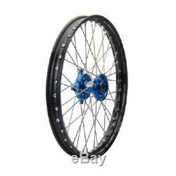 Tusk Complete Front Wheel 21 KAWASAKI KX125 KX250 KX250F KX450F front rim