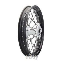 Tusk Complete Rear Wheel 19 KAWASAKI KX125 KX250 KX250F KX450F rear rim