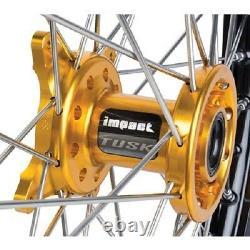 Tusk Impact Complete Front Wheel 21 SUZUKI RMZ250 2007-2018 RMZ450 2005-20178