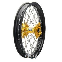 Tusk Impact Complete Rear Wheel 19 SUZUKI RMZ250 RMZ450 RMX450Z rear rim
