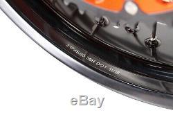VMX 17 Supermoto Complete Wheel Rim Set For Ktm Sx Excf Xcf 125-530cc 2003-2020