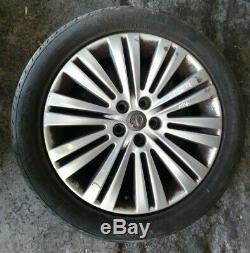 Vauxhall Astra J Complete 20 Spoke Alloy Wheel Set 215/50/r17 Refm4