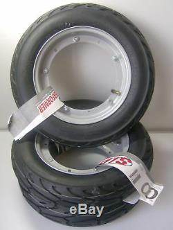 Vespa P 200 E Complete Wheel 3 Package Rim Tyre