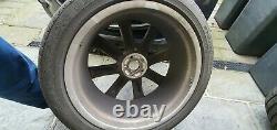 Volvo XC90 21 8-Spoke Silver Diamond Cut Alloy Wheels- complete set of 4 wheels