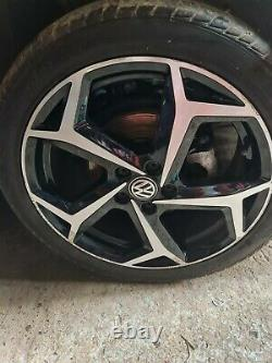 Vw Polo 2g Beats Edition Complete Set Of Diamond Cut Alloy Wheels
