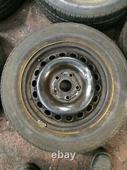 Vw Touran 1.9 Tdi 03-06 Genuine Tyres With 5 Stud Rim And Spare Complete Set(26)