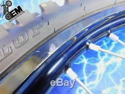 Yamaha Complete Front Black Excel Wheel Hub Rim tire OEM Assembly